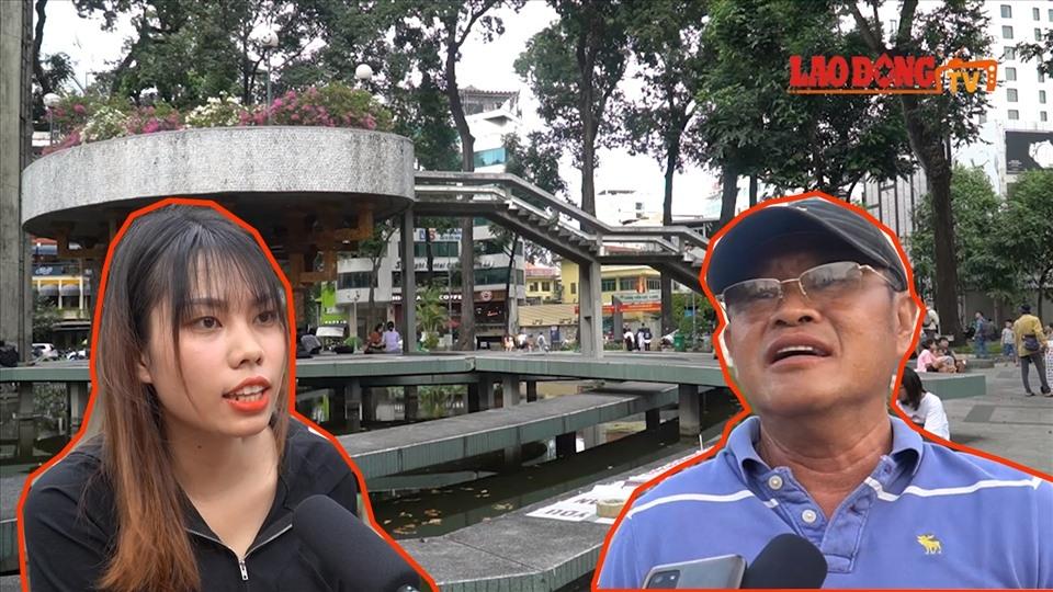 Hồ Con Rùa trở thành phố đi bộ: Người dân nói gì?
