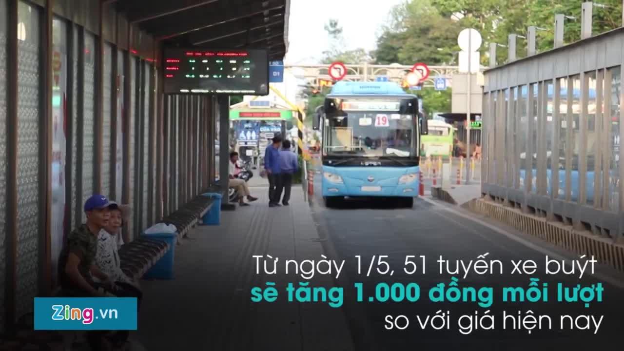 Vì sao người dân TP.HCM 'quay lưng' với xe buýt?