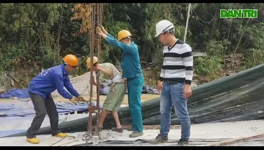 Ninh Bình: Tháo dỡ công trình xây dựng sai phép trong vùng di sản Tràng An