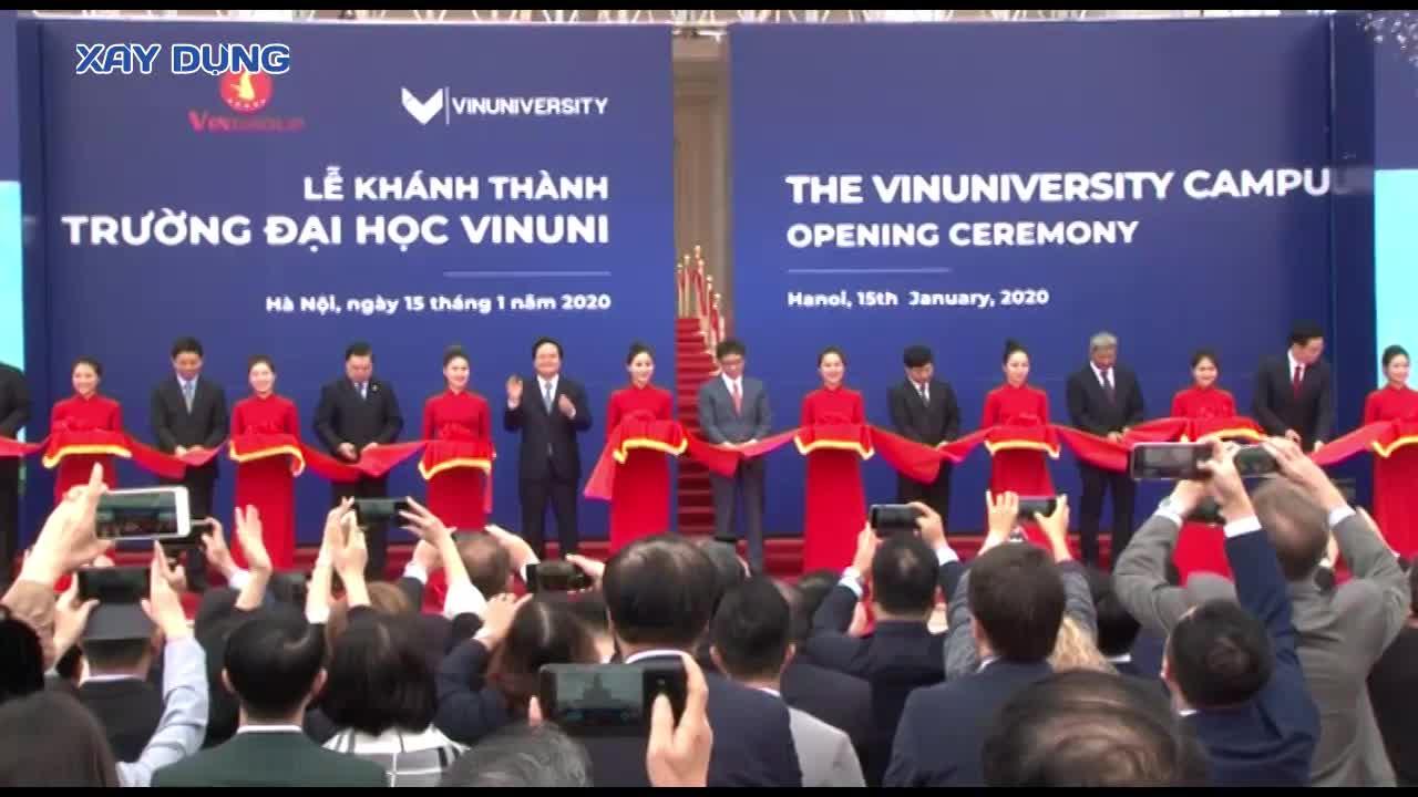 Trường Đại học VinUni chính thức khánh thành với tổng mức đầu tư 6.500 tỷ đồng