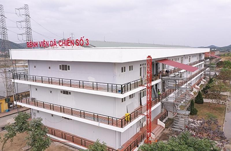 Xúc động hành trình thi công bệnh viện dã chiến từ Tiên Sơn ra Hải Dương