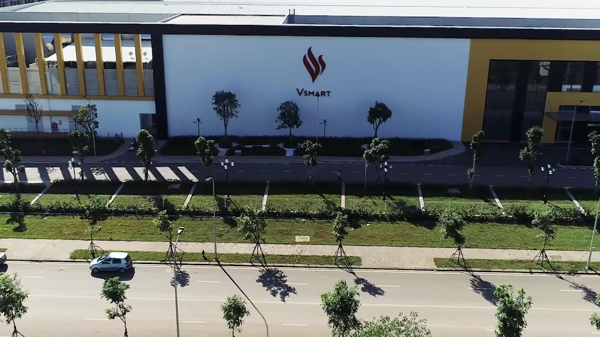 VinSmart khánh thành tổ hợp nhà máy sản xuất thiết bị điện tử thông minh giai đoạn 1