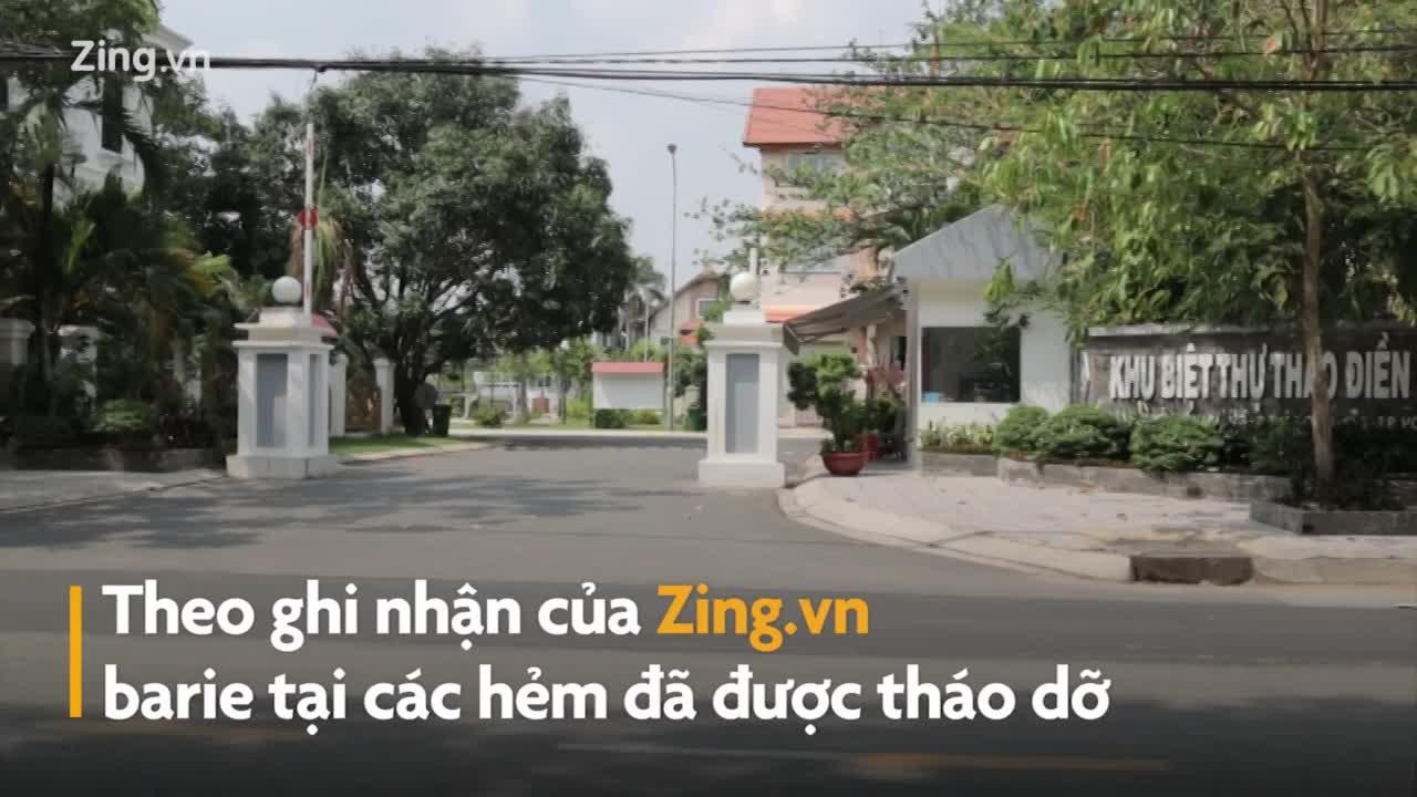 Rà soát từng trường hợp chiếm sông tại Thảo Điền