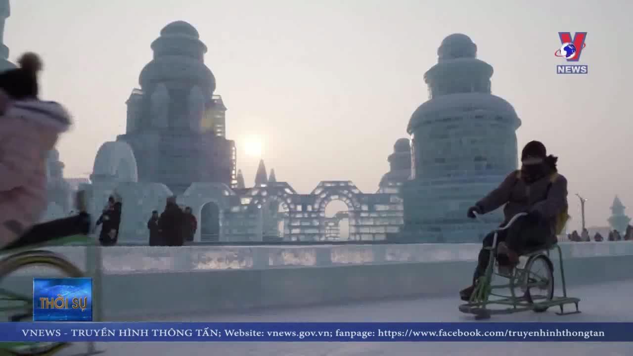 Kỳ vĩ Lễ hội băng tuyết quốc tế thường niên Cáp Nhĩ Tân