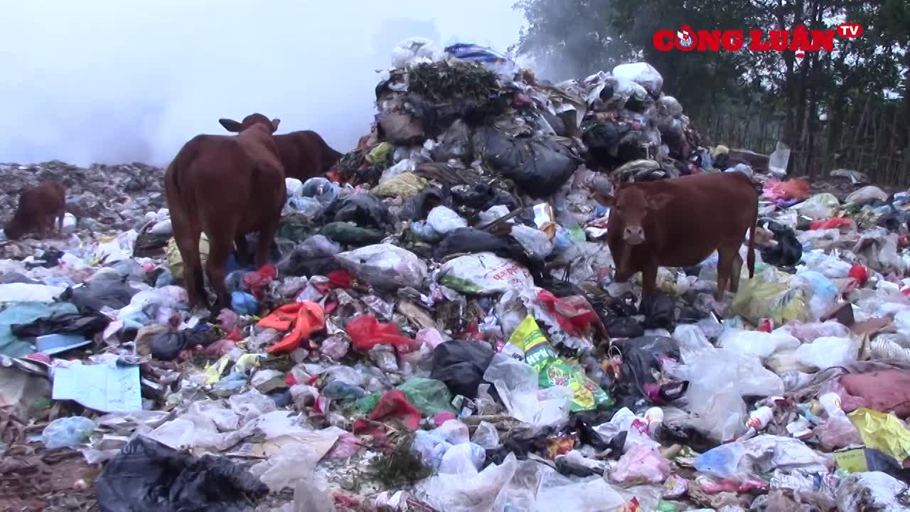 Hòa Bình: Cần sớm khắc phục các tồn tại ở khu xử lý rác thải huyện Mai Châu