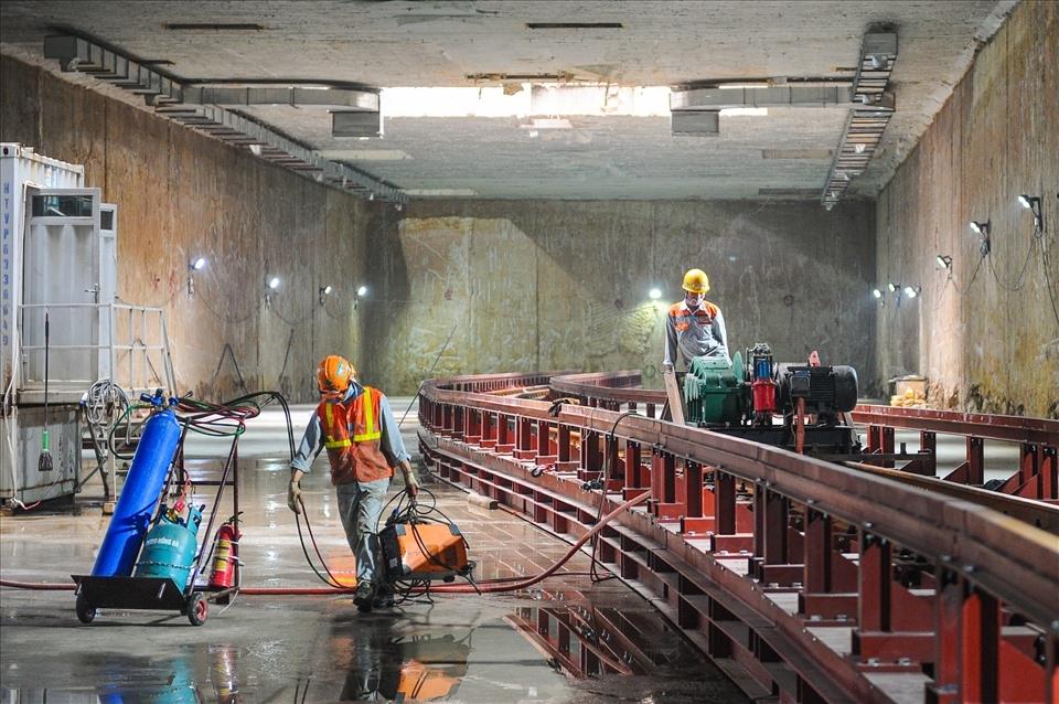 Đào hầm Nhổn - ga Hà Nội có ảnh hưởng đến công trình trên mặt đất?