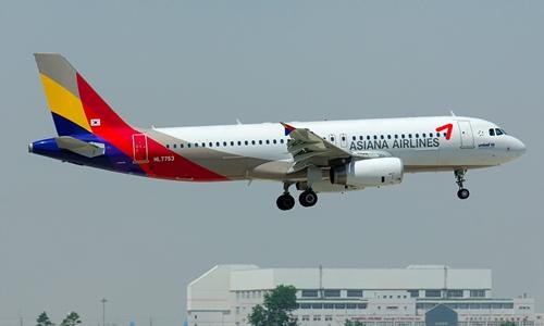 Máy bay Hàn Quốc chở 81 người trượt đường băng ở Nhật