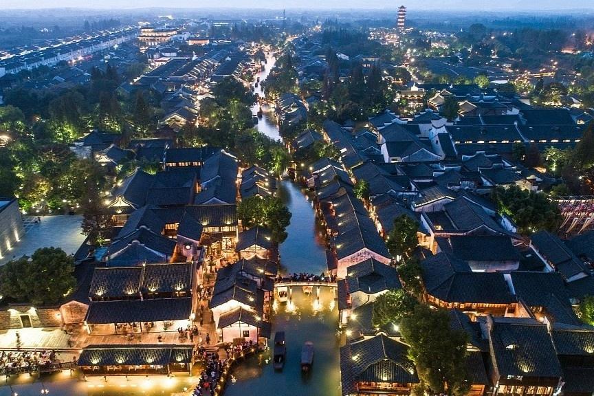 Thị trấn nước 1.300 năm tuổi ở Trung Quốc