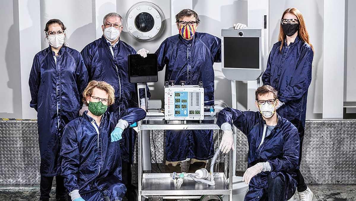 NASA phát triển máy thở áp lực cao
