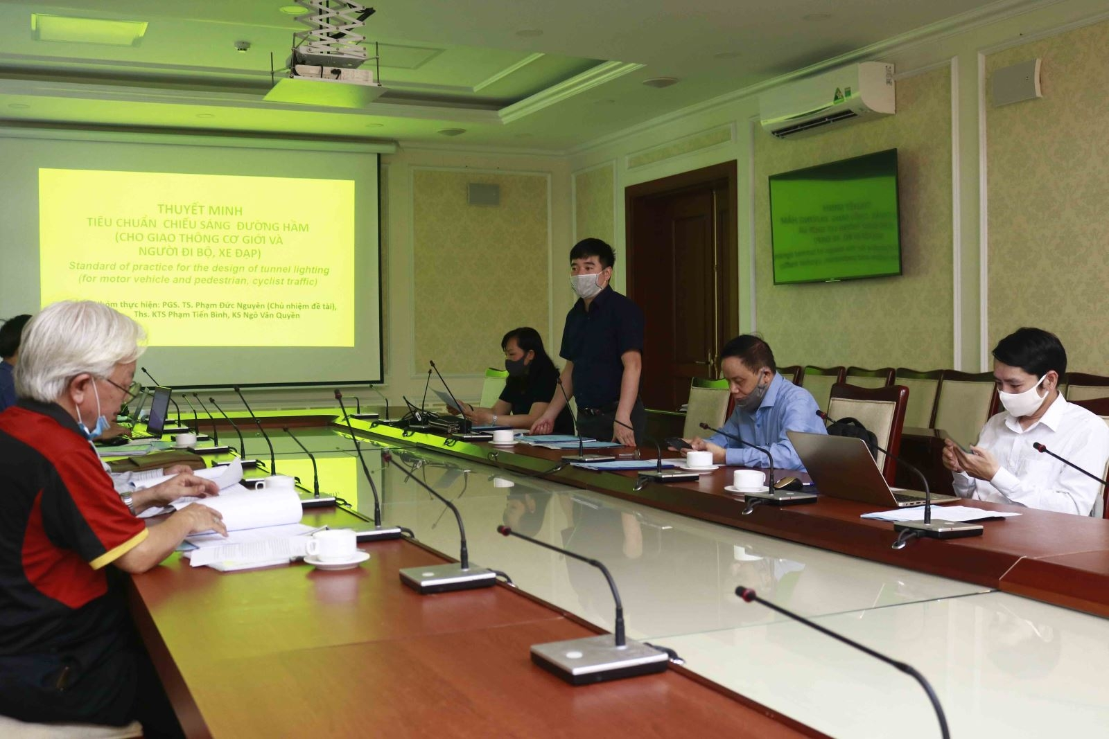 Nghiệm thu các dự thảo TCVN do Hiệp hội Môi trường xây dựng Việt Nam thực hiện