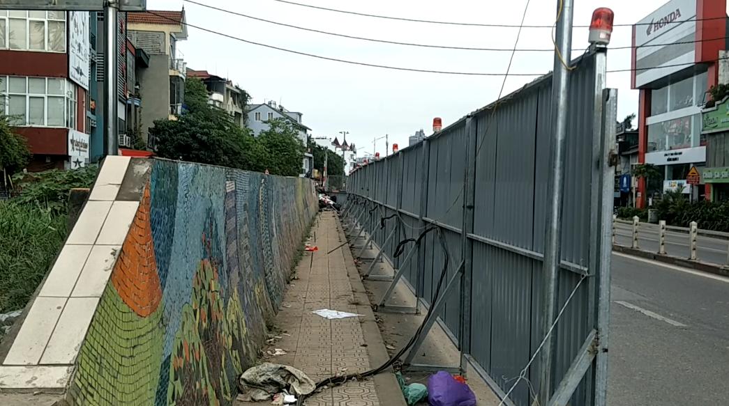 Phá dỡ 600m con đường gốm sứ ven sông Hồng phục vụ dự án mở đường