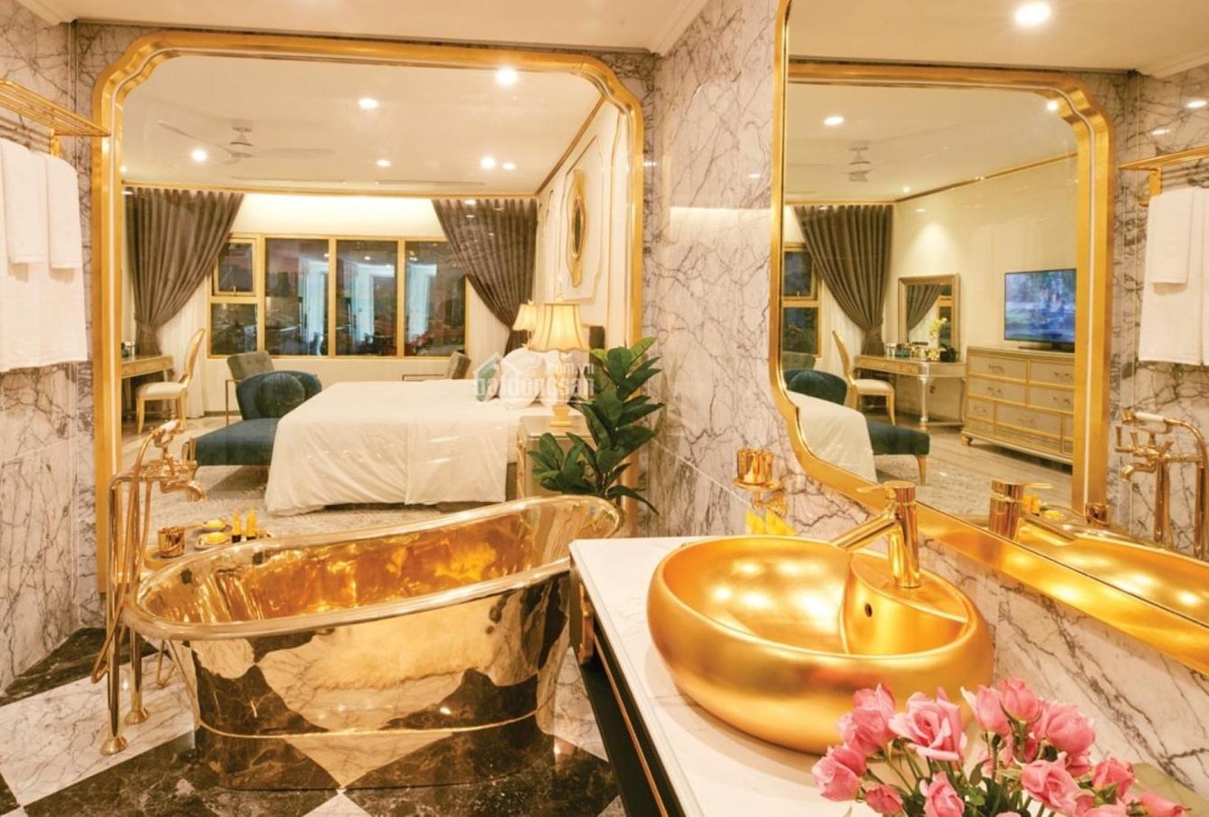 Khách sạn mạ vàng đầu tiên trên thế giới ở Việt Nam