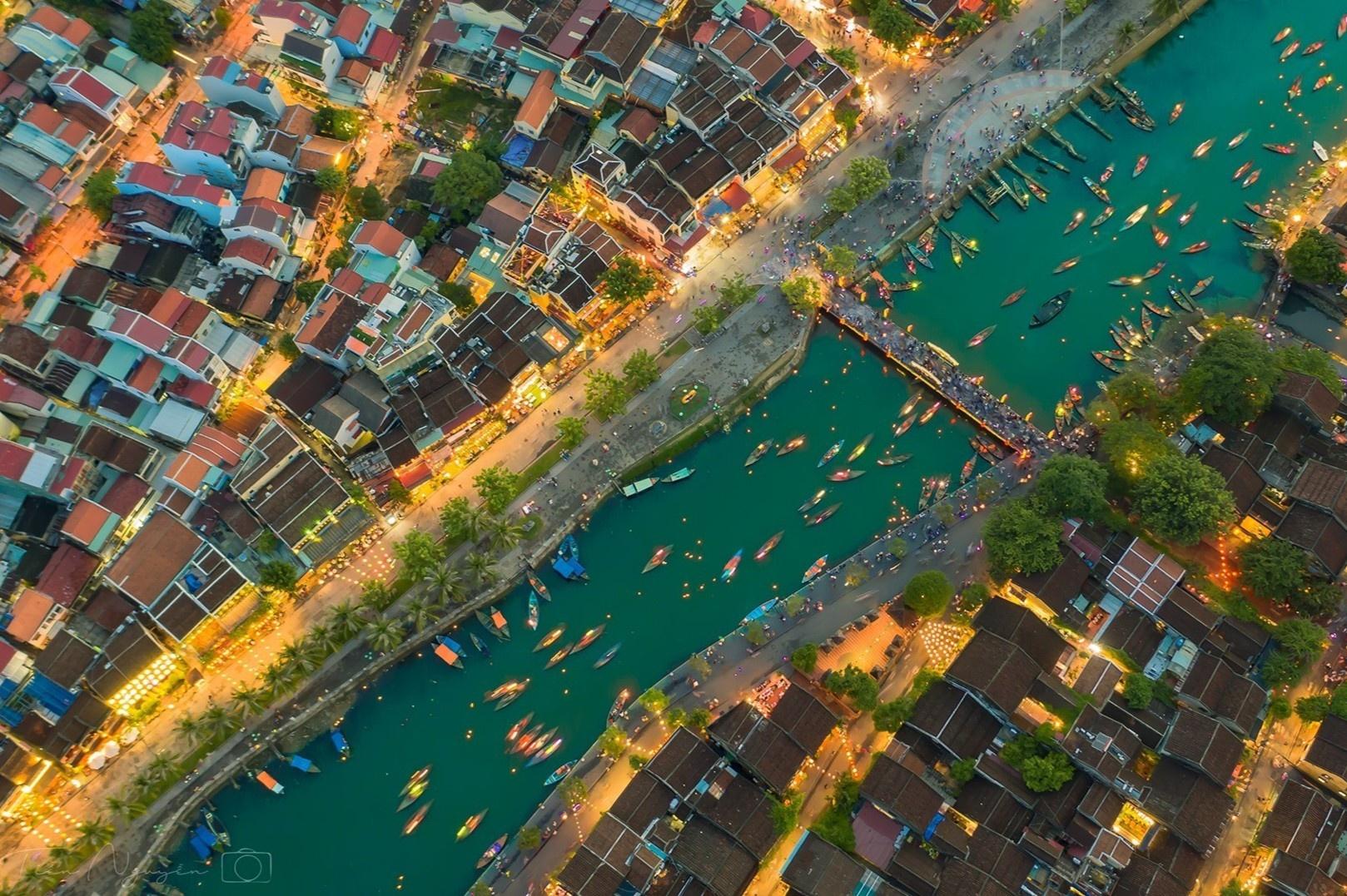 Đà Nẵng - Hội An - Huế trong thước phim trên cao