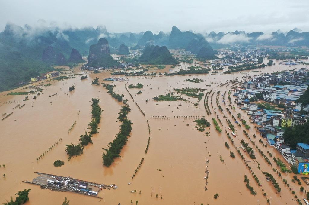 Đập ở Quảng Tây bị vỡ báo hiệu cho thảm họa sắp tới