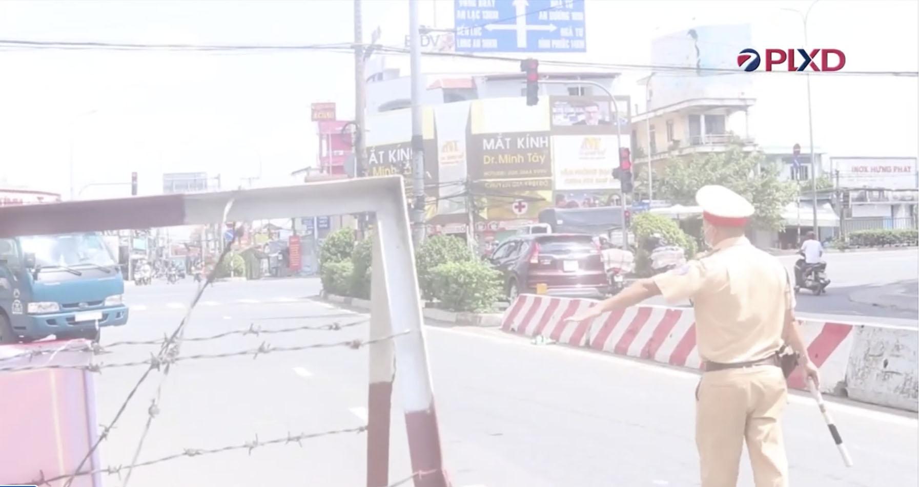 Thành phố Hồ Chí Minh: Lực lượng chốt chặn, kiểm soát Covid-19 thực hiện nghiêm Chỉ thị 16