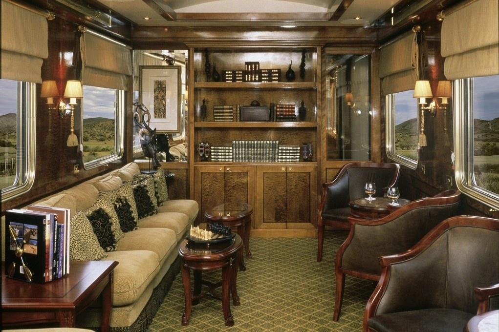 Dịch vụ xa xỉ trên đoàn tàu đắt tiền bậc nhất thế giới