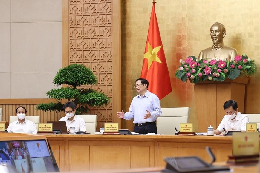Thủ tướng chủ trì Hội nghị trực tuyến về phòng, chống dịch
