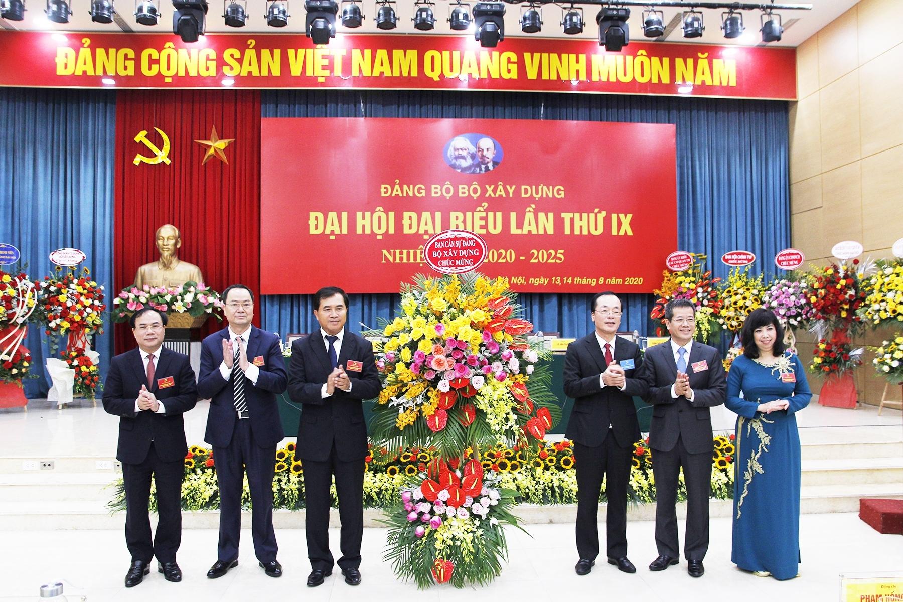 Khai mạc Đại hội đại biểu Đảng bộ Bộ Xây dựng lần thứ IX, nhiệm kỳ 2020 – 2025