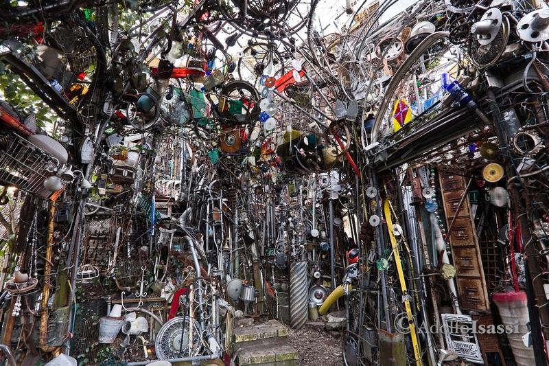 Nhà thờ làm từ 60 tấn rác thải ở Mỹ