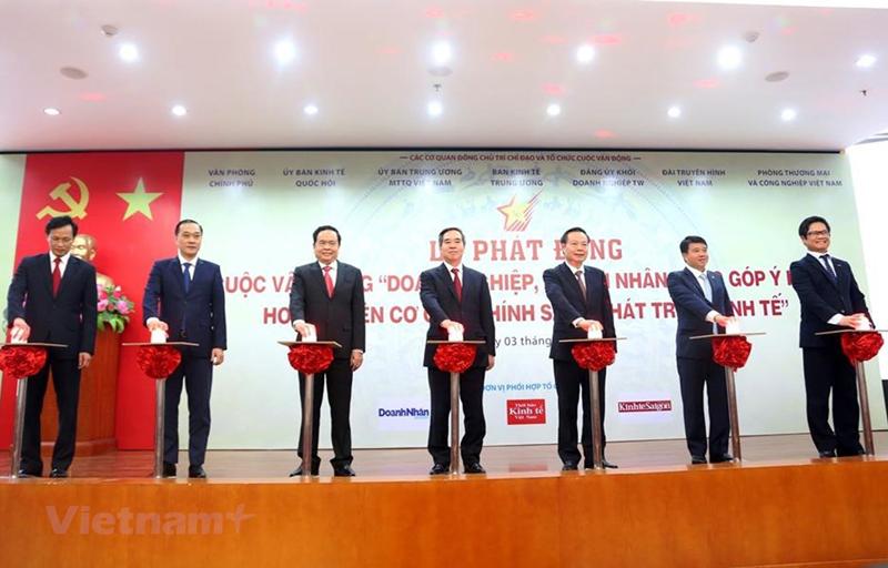 Phát động doanh nhân đóng góp ý kiến hoàn thiện chính sách kinh tế