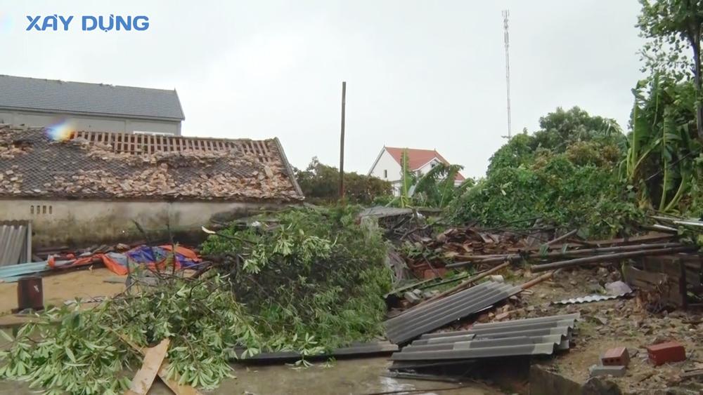 Hà Tĩnh: Khẩn trương khắc phục thiệt hại sau bão số 5