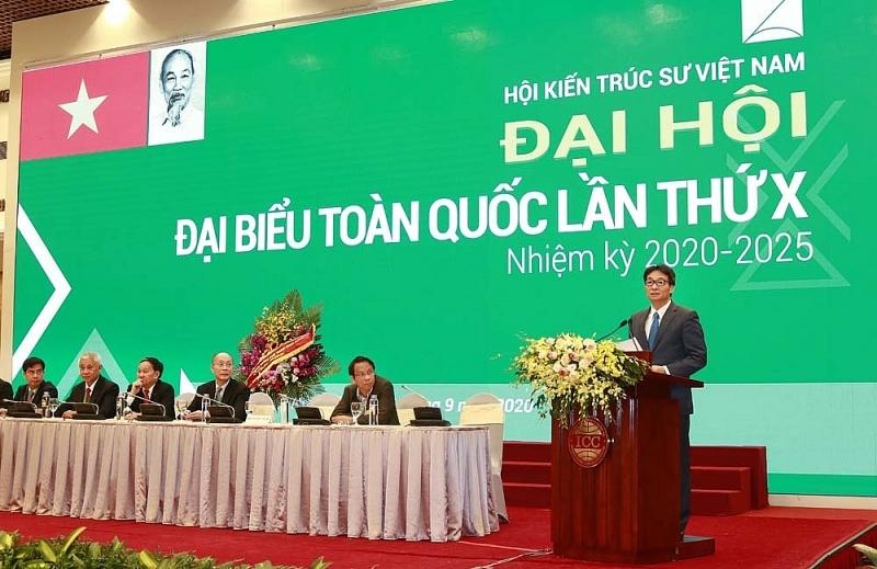 Hội Kiến trúc sư Việt Nam đã ghi dấu ấn đậm nét trong từng chặng đường lịch sử của đất nước