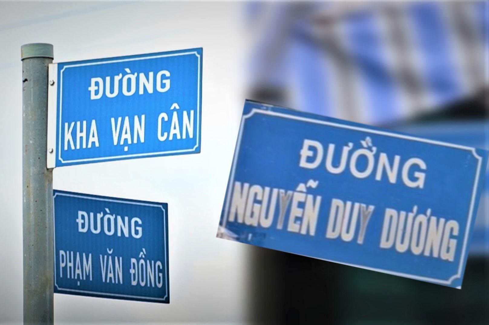 Người dân TP.HCM: 'Nên đổi tên đường theo đúng lịch sử'