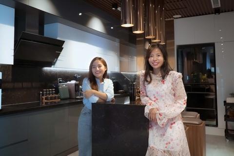 Khám phá bếp gần 2 tỷ đồng của căn penthouse ở Hà Nội