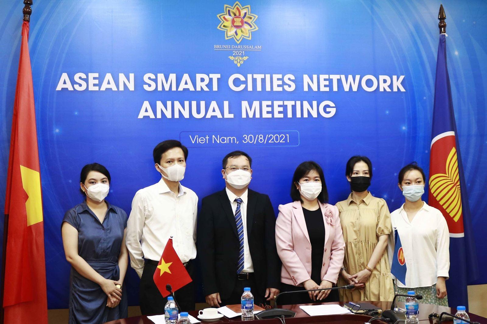 Khai mạc Hội nghị thường niên Mạng lưới đô thị thông minh ASEAN lần thứ IV