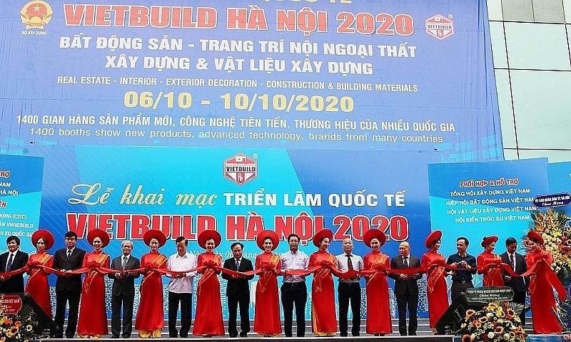 Triển lãm quốc tế Vietbuild Hà Nội 2020 thu hút 1.400 gian hàng