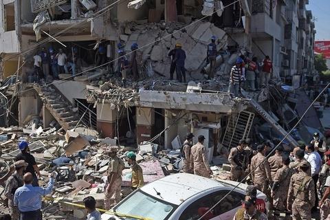 Nổ lớn tại tòa nhà ở Pakistan, ít nhất 5 người thiệt mạng