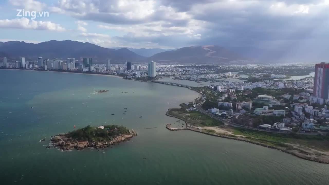 Dự án 33 triệu USD lấn vịnh Nha Trang thành nơi đổ rác, hút chích