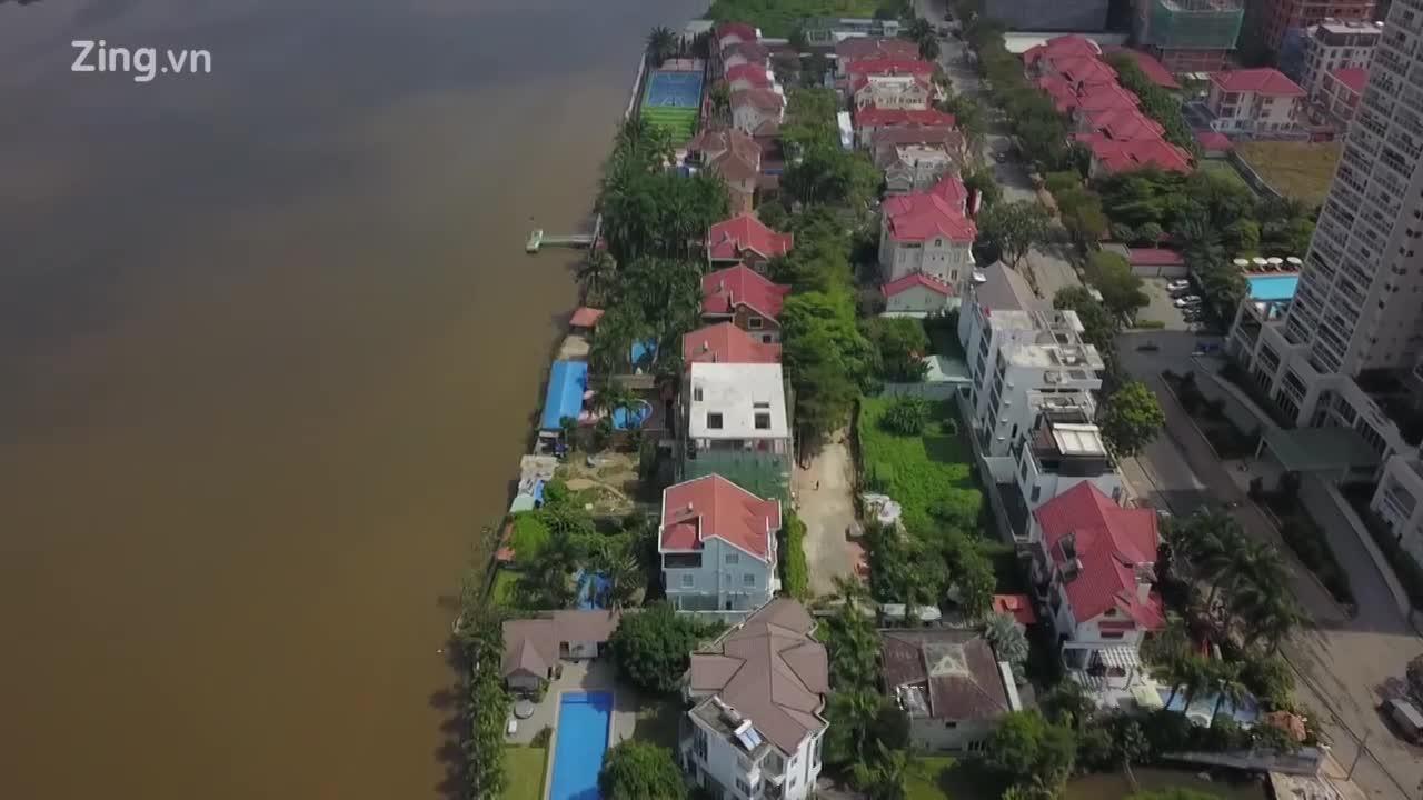 Buộc tháo dỡ 2 nhà hàng ở Thảo Điền chiếm bờ sông Sài Gòn