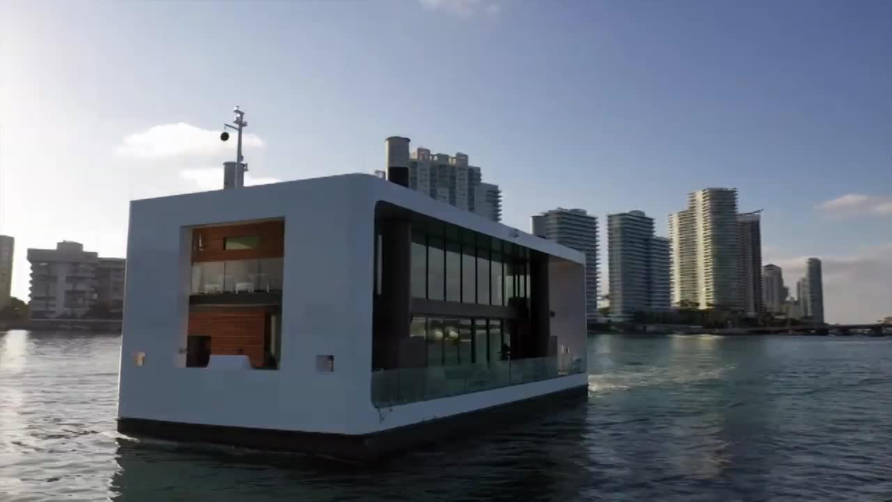 Đỉnh cao của sự xa xỉ: Biệt thự nổi trên biển giá hơn 127 tỷ đồng