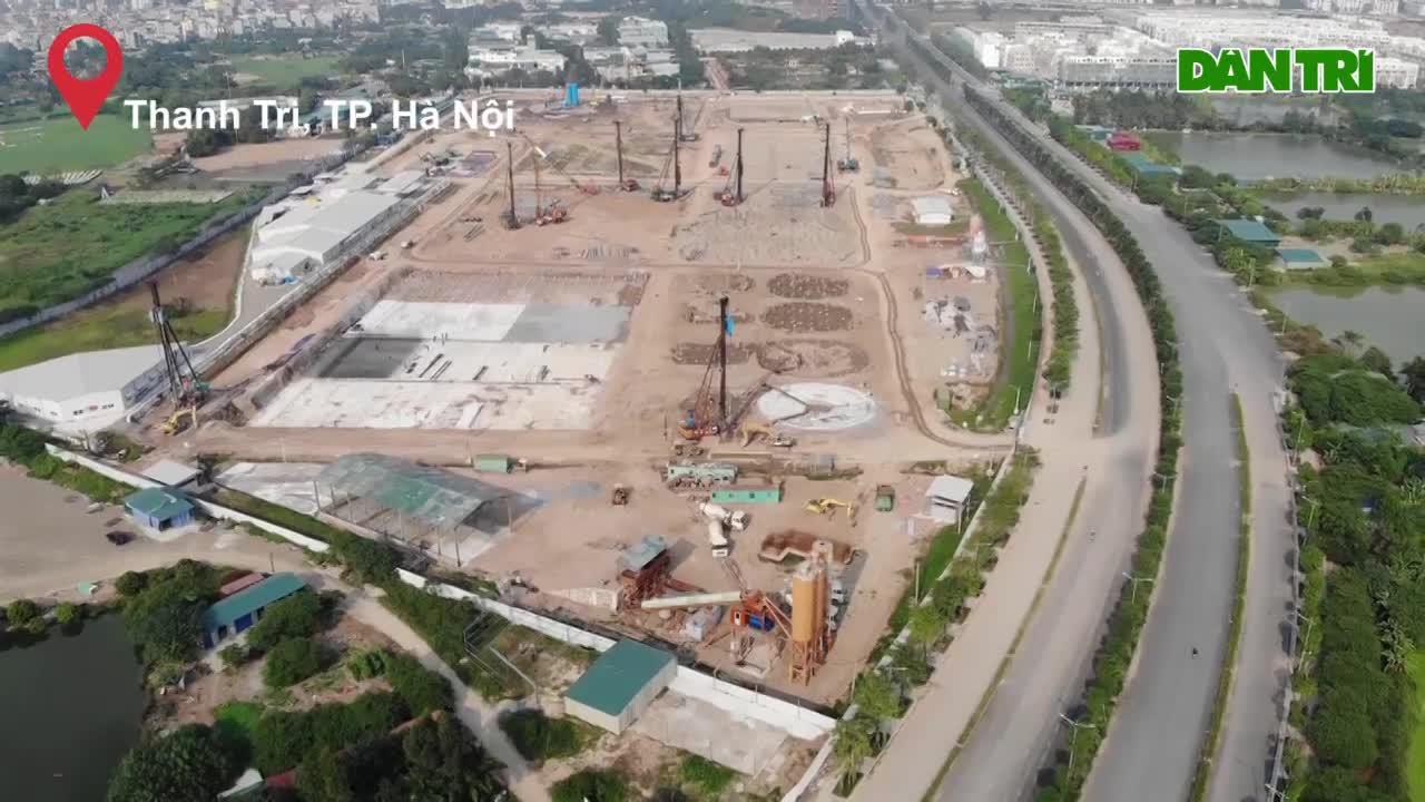 """Cận cảnh Dự án nhà máy xử lý nước thải lớn nhất Việt Nam được mong đợi sẽ """"hồi sinh"""" sông Tô lịch"""