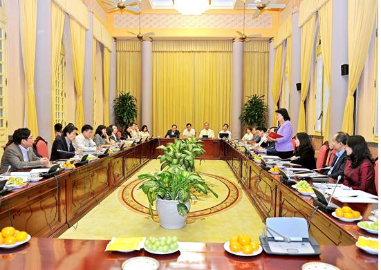 Phó Chủ tịch nước Đặng Thị Ngọc Thịnh chủ trì phiên họp Hội đồng bảo trợ Quỹ Bảo trợ trẻ em Việt Nam