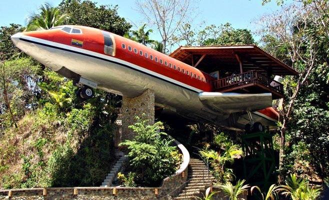 Tái chế máy bay 'nghỉ hưu' thành khách sạn sang trọng