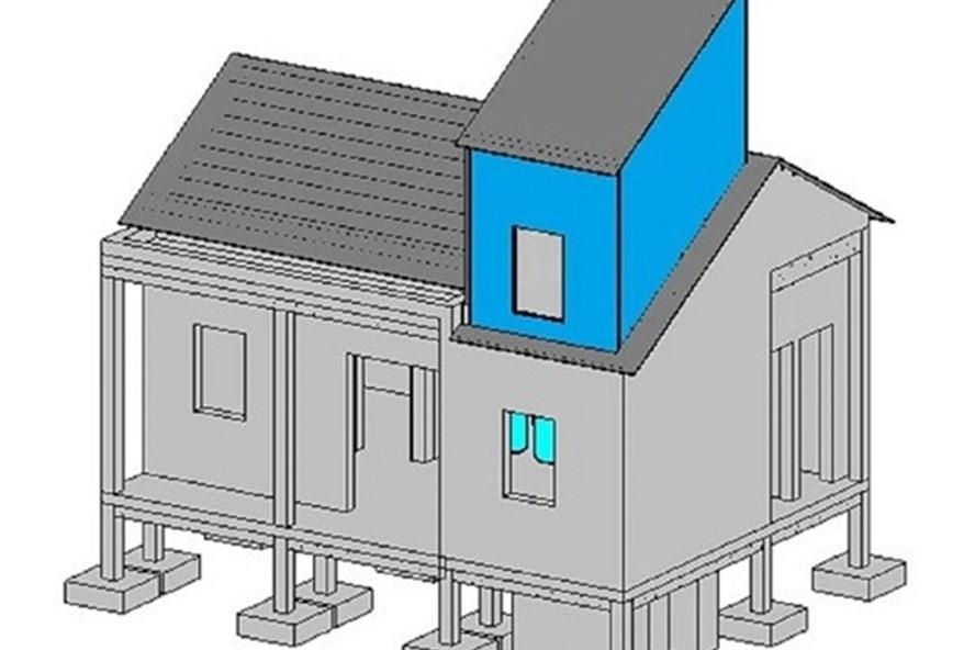Vì sao nhà chống lũ xây dựng đơn giản nhưng đạt hiệu quả cao?