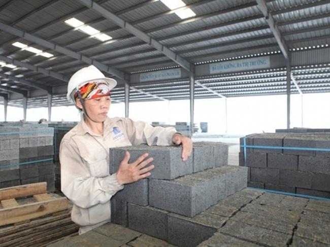 Hướng tới sản xuất vật liệu xây dựng đáp ứng phát triển bền vững