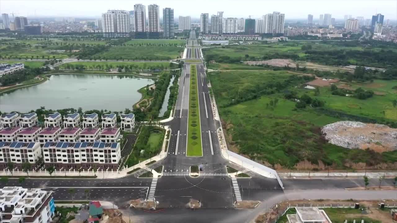 Hệ thống giao thông kết nối ba đường vành đai ở thủ đô