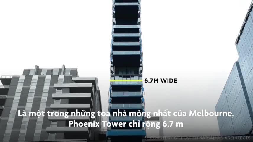 Những tòa nhà mỏng nhất thế giới, có tòa chỉ rộng 92 cm