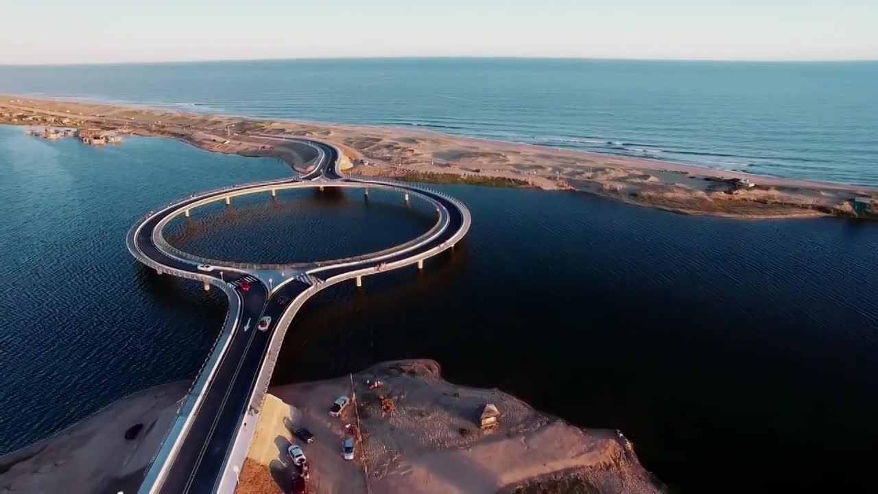 Độc lạ cây cầu hình tròn có giá hàng trăm tỷ đồng
