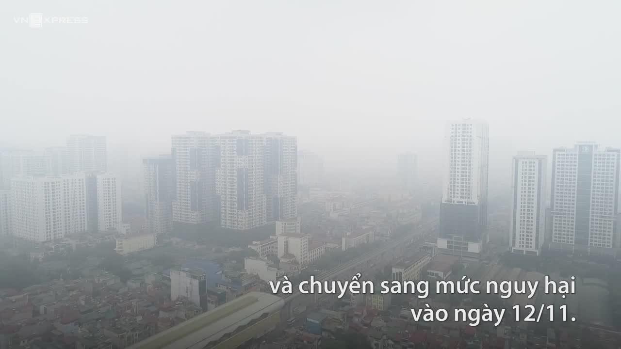 Ô nhiễm không khí, 'sát nhân' thầm lặng trong thành phố