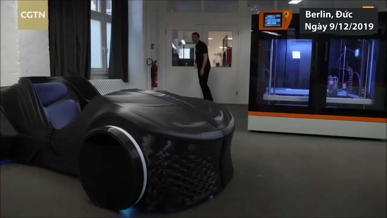 Công nghệ in 3D tạo ôtô trong 12 tuần