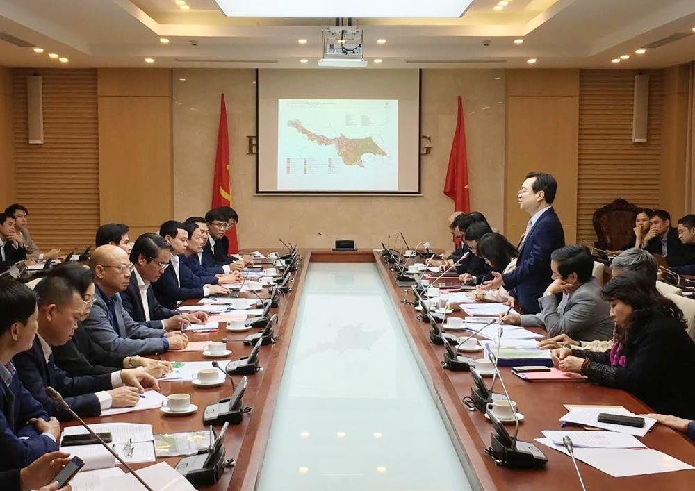 Thứ trưởng Nguyễn Thanh Nghị làm việc với UBND tỉnh Sơn La
