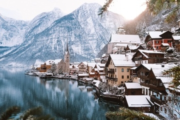Mùa đông ở ngôi làng cổ thơ mộng bậc nhất châu Âu