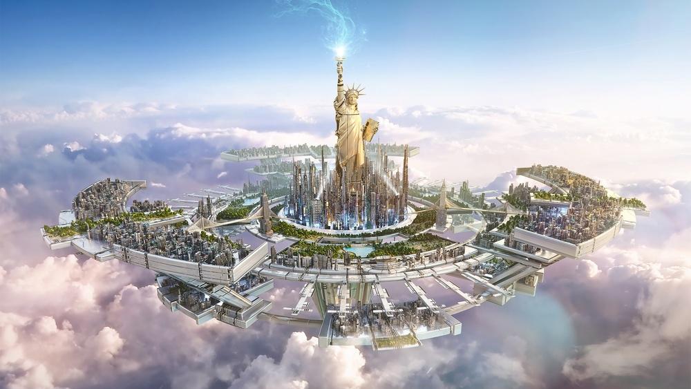 Tham vọng xây dựng thành phố bay